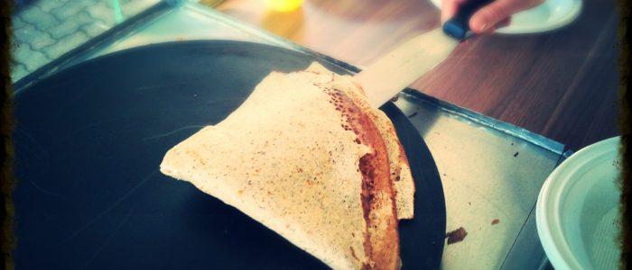 galette bretone con grano saraceno