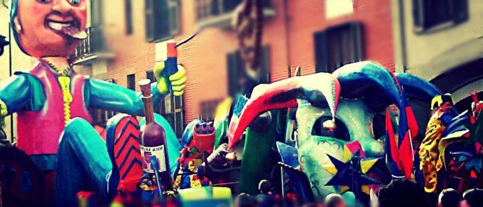 Foto sfilata carri del carnevale di Carignano (TO) ed. 2016- CARNEVALANTI